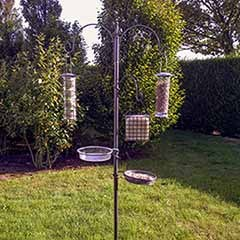 Premium Bird Feed Station