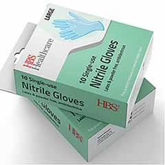 Nitrile Disposable Gloves 10Pk