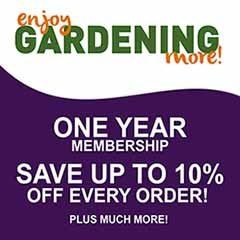 Enjoy Gardening More 1 Year Membership