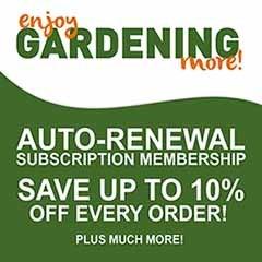 Enjoy Gardening More Yearly Subscription Membership