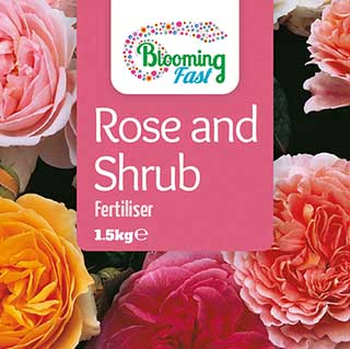 Blooming Fast Organic Rose & Shrub Feed 1.5Kg