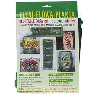 Flexi Flowa Planta - unique Tie on Re-useable Planter