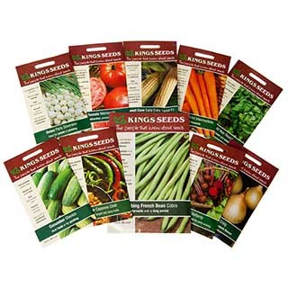 Vegetable Seed Bundle Deal - 10 packets