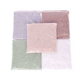 Colourful Sand Packs - 5 x 250g Natural Shades Bags