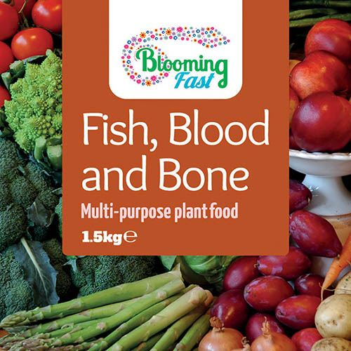Blood, Fish & Bone Organic Fertiliser x 1.25Kg pack