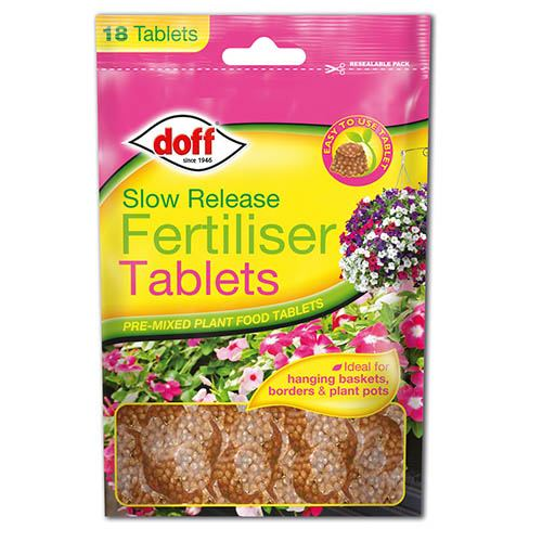 Doff Slow release Fertiliser Tablets 18 pack
