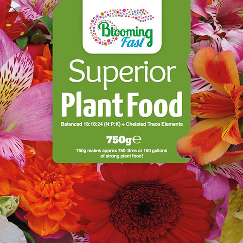 Blooming Fast Superior Soluble Fertiliser 1.25kg