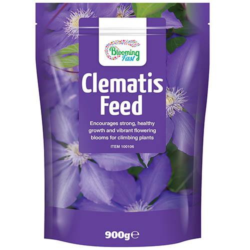 Blooming Fast Clematis Feed