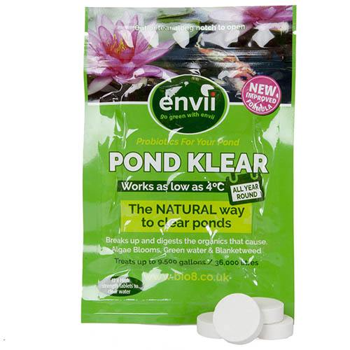 Pond Klear Tablets - the natural solution