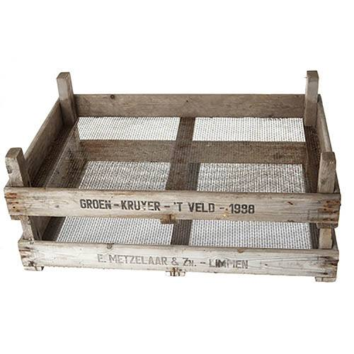 Genuine Vintage Dutch Bulb Crate