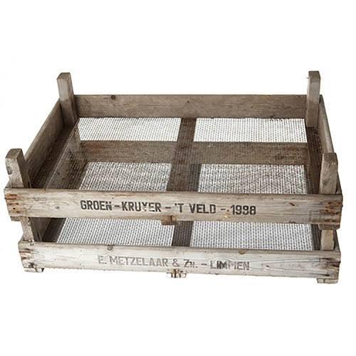 Genuine Vintage Dutch Bulb Crate