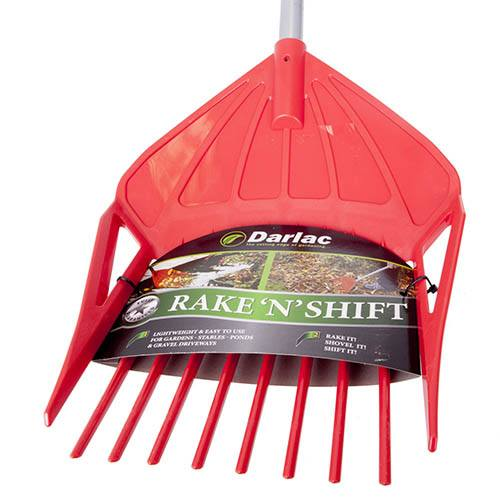 The 3-in-1 'Rake 'N' Shift'