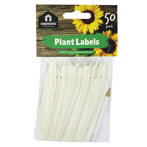 50 Plant Labels with Pencil