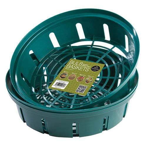 Round Bulb Baskets (Pack of 3)