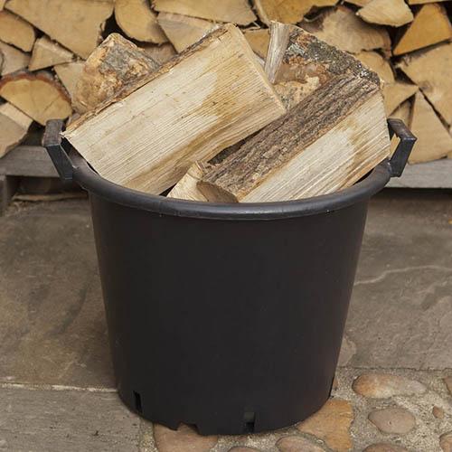 8 x 30 Litre Plant Tree Pot Handles Heavy Duty 30L Lt Big Large WITHOUT HOLES