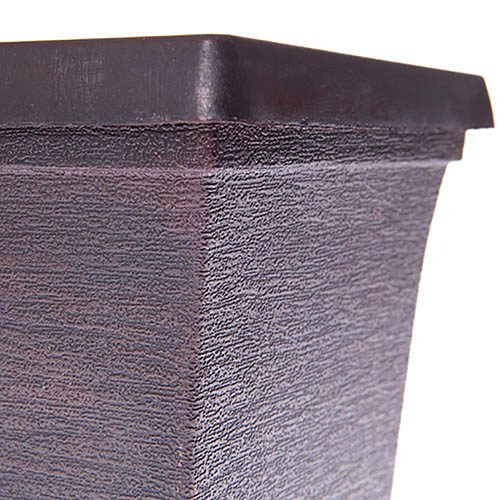 Mixed Metallic Finished 19cm Outdoor Planters