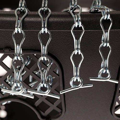 2 Pack 4-Point Chains for Easy Fill Baskets