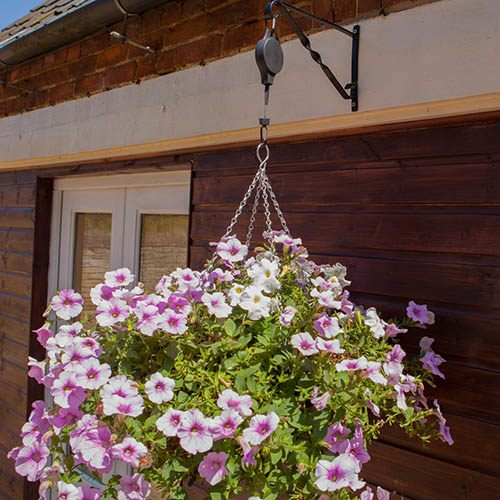 Pair of Up-Down Hanging Basket Raisers