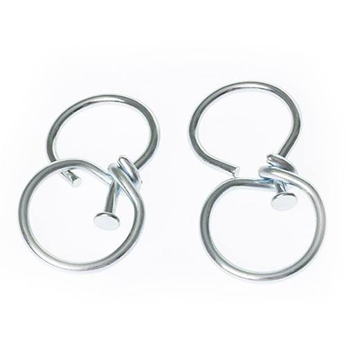 Pair of Hanging Baskets Swivel Hooks