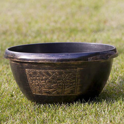Chengdu Design Metallic Effect Bowls 30cm - set of 3
