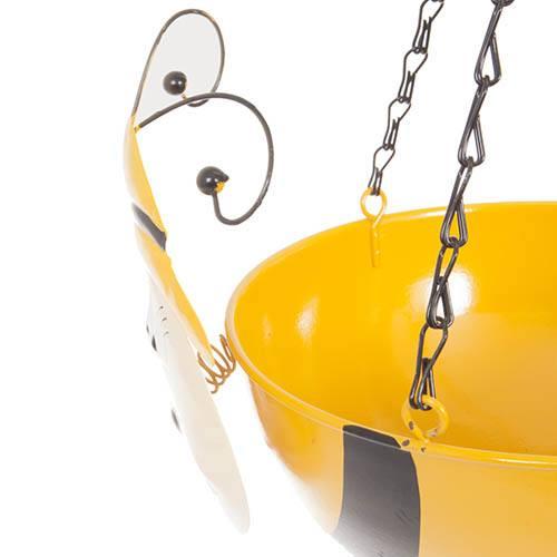 Bee Wobblehead Metal Hanging Basket 11 28cm