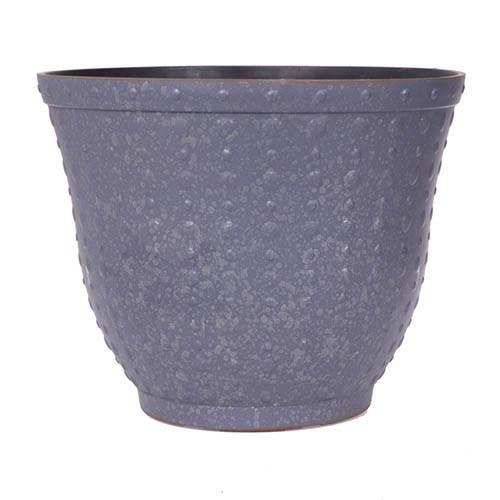 Premium Hobnail Silver Planter 17