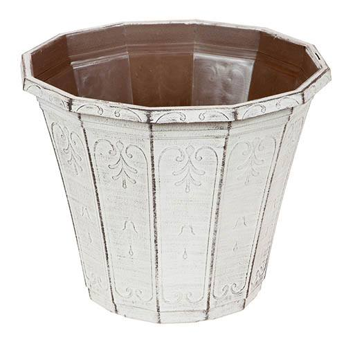 Calista Round Planter 30cm (12in) Vintage Rust