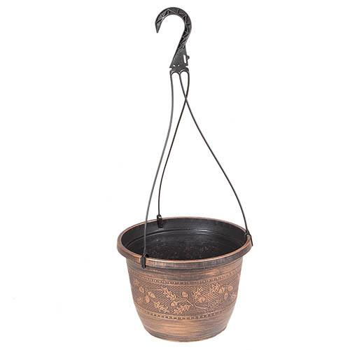 Acorn Hanging Basket 25cm (10in) Copper-Tone