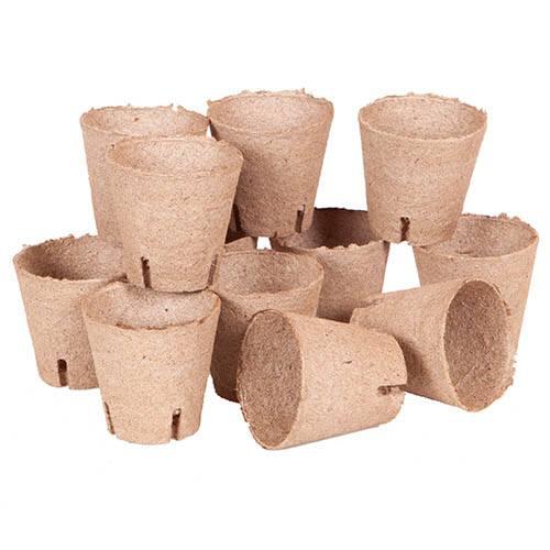 Jiffy Bio Pot Refills - 12 x 8cm pots