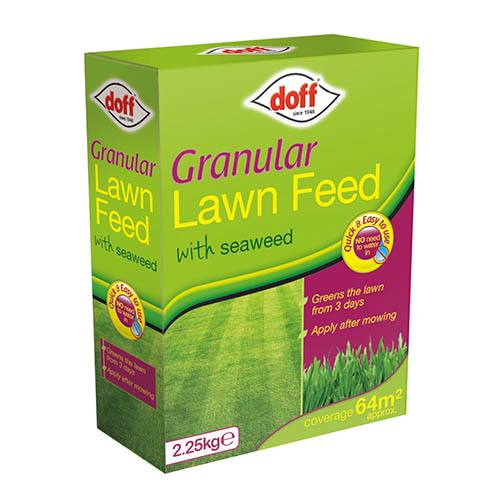 Doff Granular Lawn Feed 2.25Kg for 64m2