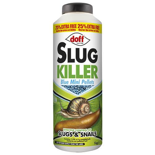 Doff Slug Killer Mini Blue Pellets