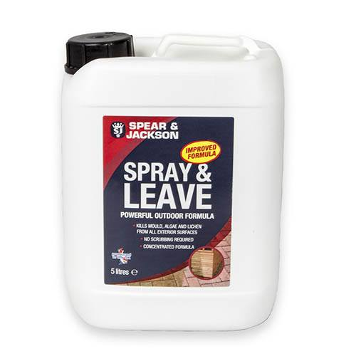 Spear & Jackson Spray & Leave Concentrate 5L