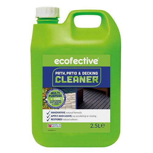 ecofective Path, Patio & Decking Cleaner Concentrate 2.5L