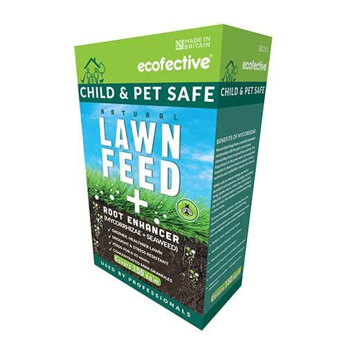 ecofective Natural Lawn Feed & Root Enhancer Mini Granules 4kg Pack