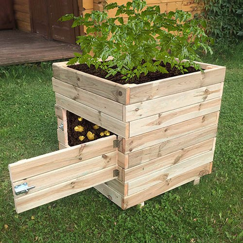 Square Potato Planter