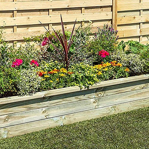 Rectangular Sleeper Raised Bed