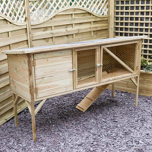 Rabbit & Guinea Pig Hutch