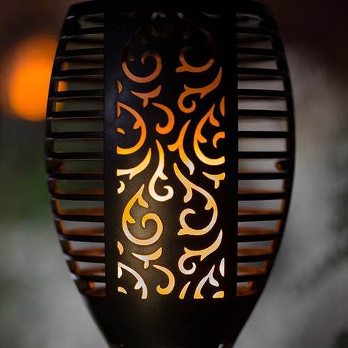 Trueflame USB Solar Torch Light