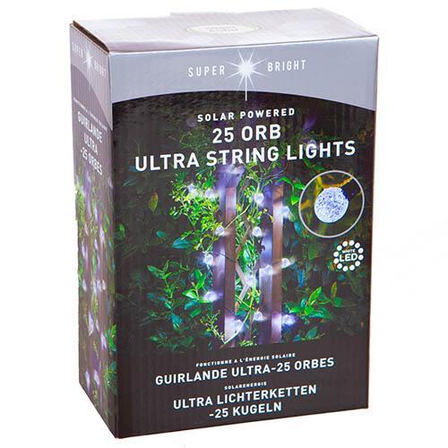 25 Super Bright Orbs