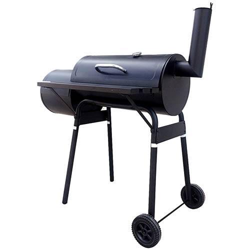 Charles Bentley Medium Smoker Barrel Charcoal BBQ