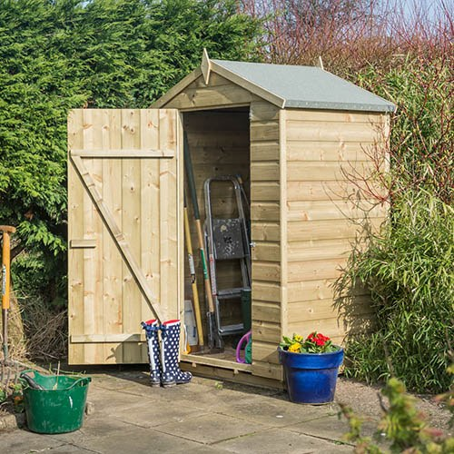 Rowlinson Oxford 4x3 Shed