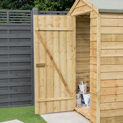Rowlinson Overlap 4x3 Shed