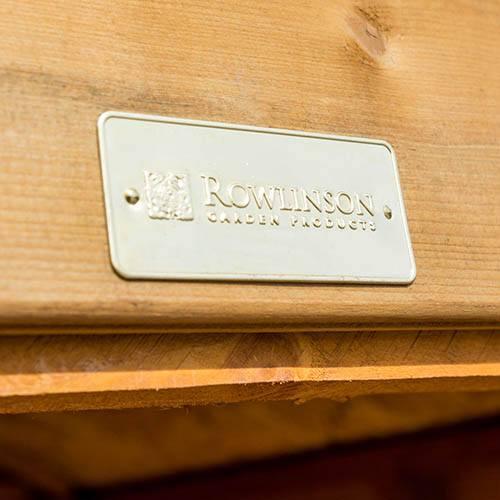 Rowlinson Modular 4x4 Shed