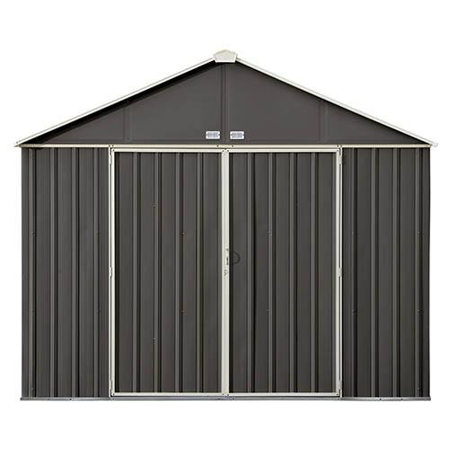 Rowlinson 10x8 Metal Ezee Shed Grey