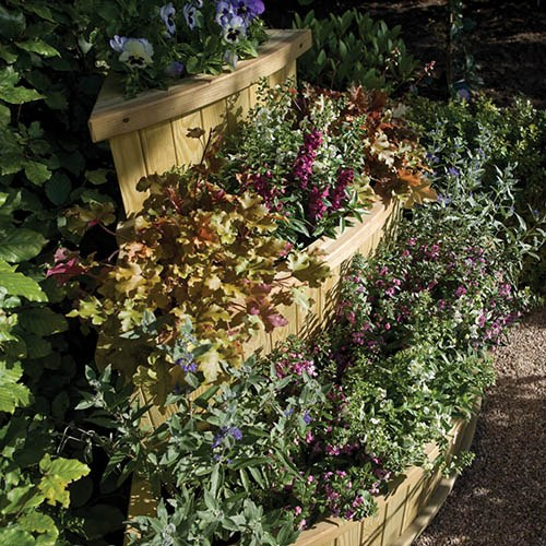 Marberry Corner Cascade Planter