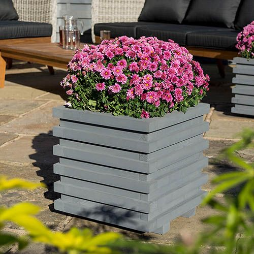 Rowlinson Sorrento Square Planter