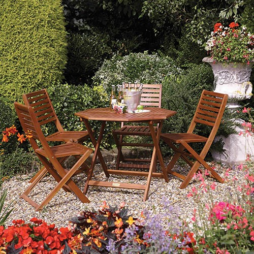 Rowlinson Plumley Four Seater Set