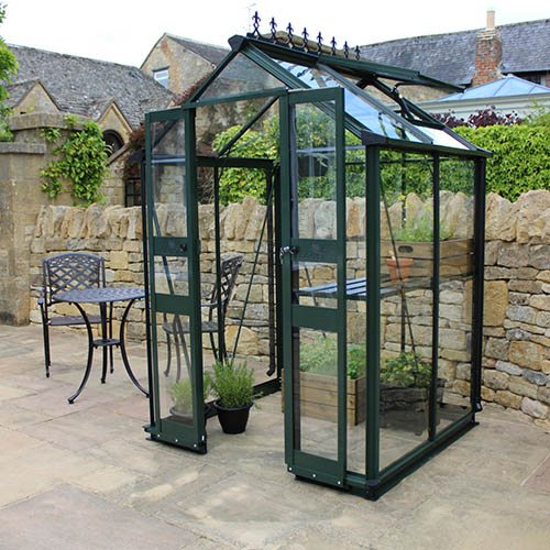 Eden Birdlip 44 (Green) Greenhouse-Toughened Glass