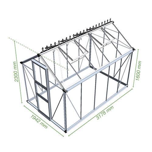 Burford Installation 6 x 10 Greenhouse