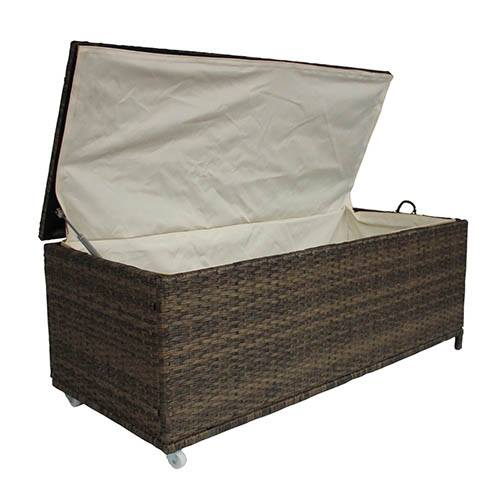 Charles Bentley Rattan Storage Box - Natural
